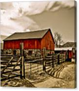 Old Country Farm Canvas Print