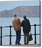 Old Couple Canvas Print