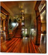Old Courthouse Hallway Canvas Print