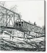 Old Covered Bridge Canvas Print