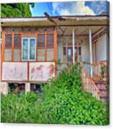 Old Curepe House Canvas Print