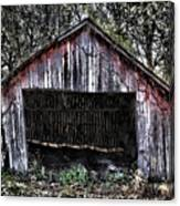 Old Dave's Front Barn Canvas Print