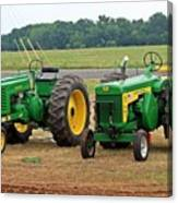 Old Deere Canvas Print
