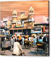 Old Dehli Canvas Print