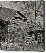 Old Deserted Farmhouse 3 Canvas Print