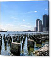 Old Docks Canvas Print
