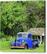 Old Dodge Truck Canvas Print