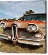 Old Edsel Canvas Print