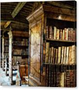 Old English Library Canvas Print