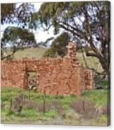 Old Farm House Ruin  Canvas Print