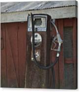Old Farm Pump Canvas Print