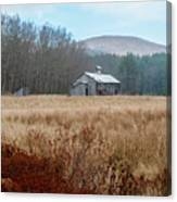 Old Farm Saturated Canvas Print