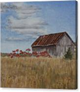 Old Farmer's Barn Canvas Print