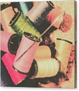 Old Fashion Threads Canvas Print