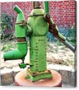 Old-fashioned Pitcher Pump Canvas Print