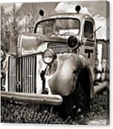Old Firetruck Canvas Print