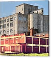 Old Flour Mill Canvas Print