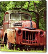 Old Ford Canvas Print