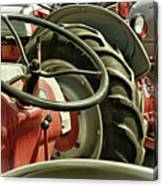 Old Ford Tractors Canvas Print