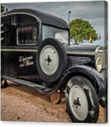Old French Truck Canvas Print