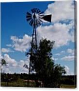 Windmill Color  Canvas Print