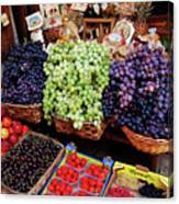 Old Fruit Store Canvas Print