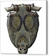 Old Gas Mask Canvas Print