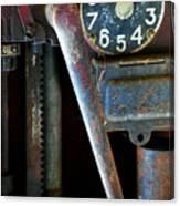 Old Gas Pump Canvas Print