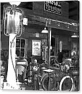 Old Gas Pump Canvas Print