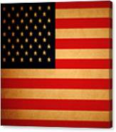 Old Glory . Square Canvas Print