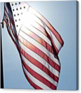 Old Glory - Long May She Wave Canvas Print