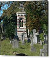 Old Graves Canvas Print