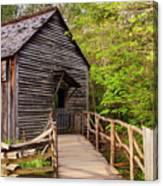Old Grist Mill Canvas Print
