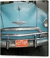Old Havana Cab Canvas Print