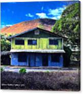 Old Hawaii Store - Signed Canvas Print