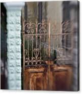 Old Heart Gate 2 Canvas Print