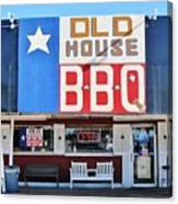 Old House Bbq Canvas Print