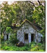 Old House Blues Canvas Print