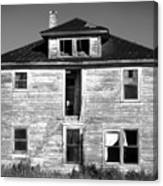 Old House On Stagecoach Road Canvas Print