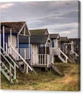 Beach Huts At Old Hunstanton Canvas Print