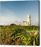 Old Hunstanton Lighthouse North Norfolk Uk Canvas Print