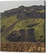 Old Icelandic Island Panorama Canvas Print