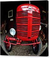 Old International Harvester Tractor Canvas Print