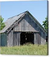 Old Iowa Barn Canvas Print