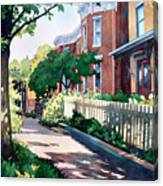 Old Iron Porch Canvas Print