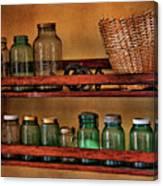 Old Jars Canvas Print