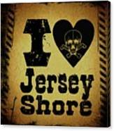 Old Jersey Shore Canvas Print