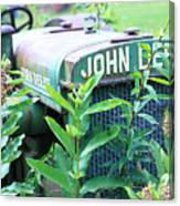 Old John Deere Canvas Print