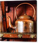 Old Kettle Canvas Print