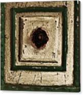 Old Knob Abstract Canvas Print